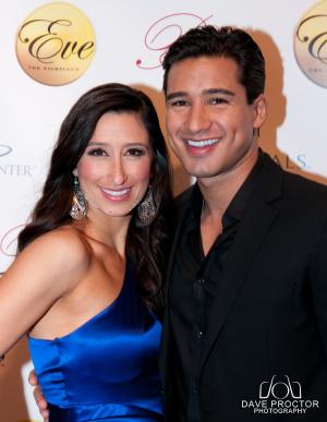 Mario Lopez & Marissa Wong