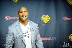 CinemaCon 2015 Dwayne Johnson