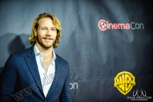 CinemaCon 2015 Luke Bracey