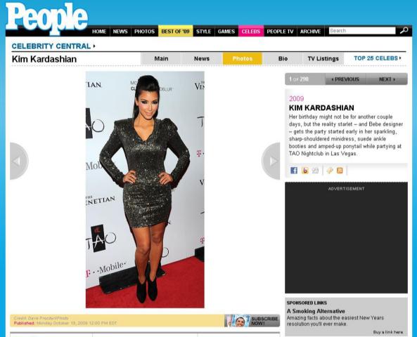 Kim Kardashian - Photo by Las Vegas Photographer Dave Proctor