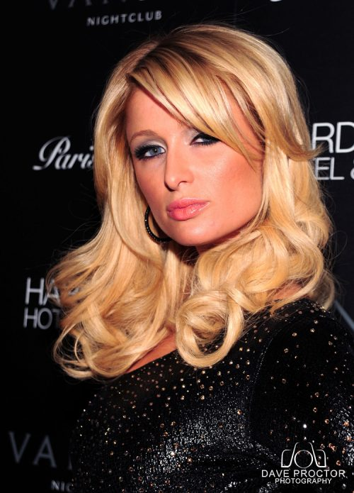 Paris Hilton at Vanity