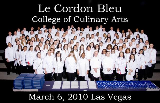 Cordon Bleu Graduation March 2010