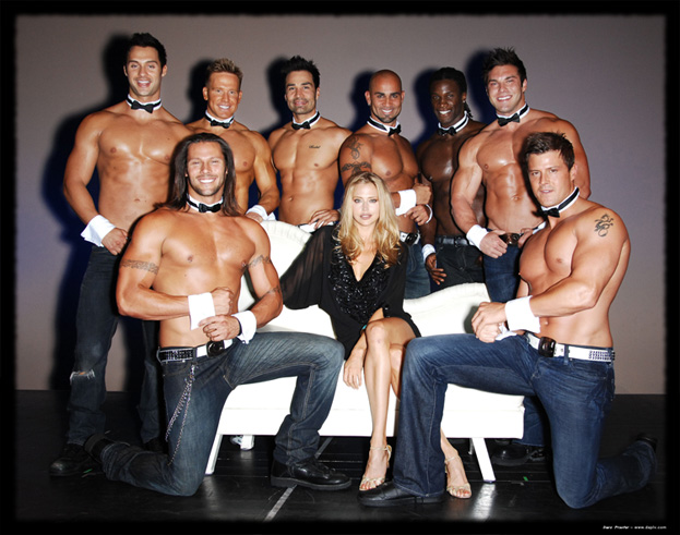 Estella Warren & The Chippendales