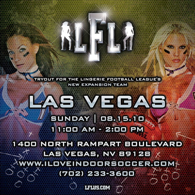 Attention Models! Lingerie Football League Tryouts this weekend