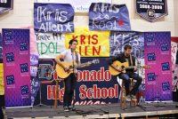 Kris Allen performs a special private concert at Coronado High School