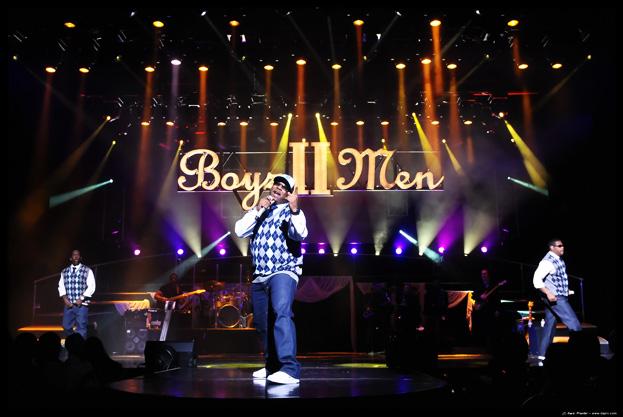 Final concert of Boyz II Men at the Flamingo