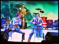Recycled Percussion – Opening show at the Tropicana