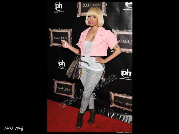 Nicki Minaj parties at Gallery