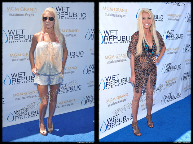 Heidi Montag & Crystal Harris turn up the heat at WET
