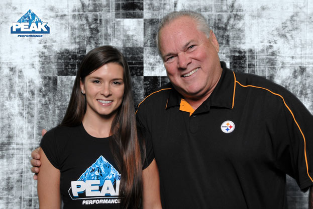 Danica Patrick and Peak Performance Products