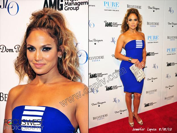 Jennifer Lopez at PURE
