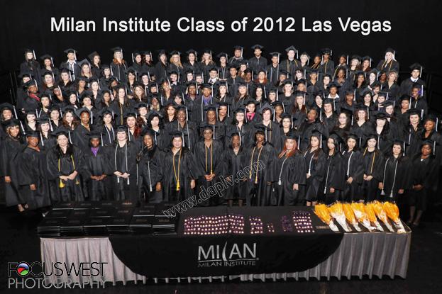 Milan Institute Graduation 2012 Las Vegas
