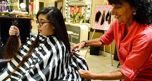 Locks of Love cut-a-thon…