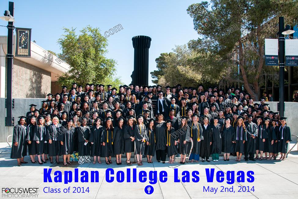 Kaplan College Graduation Las Vegas