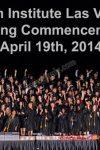 Milan Institute Graduation April 19th, 2014