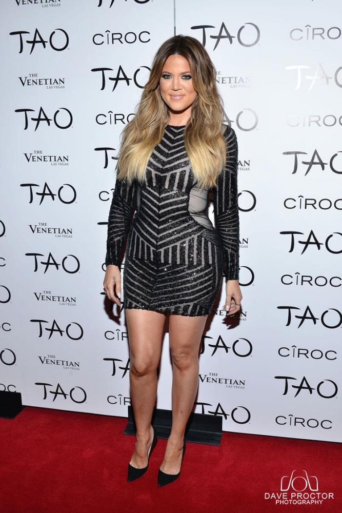 Khloe Celebrates her 30th Birthday At Tao