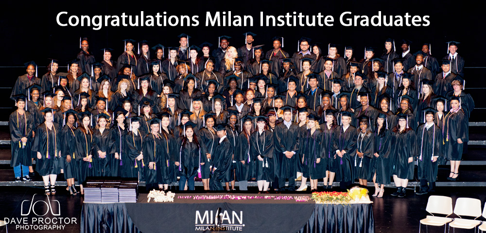 Milan Institute Graduation April 11th, 2015