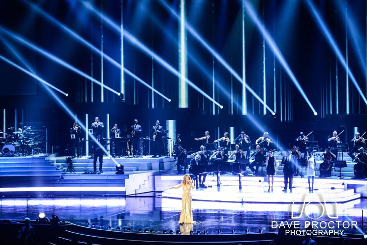 Celine Dion Press conference & Concert